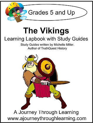 Vikings Lapbook and Study Guide (PDF)