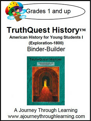 AJTL Binder-Builder for TQH: American History for Young Students I (PDF)