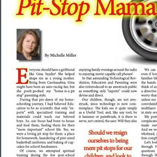 Pit-Stop Mama