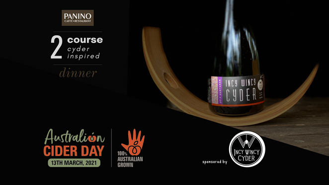 Incy Wincy Cyder launch at Panino Restaurant Wollombi