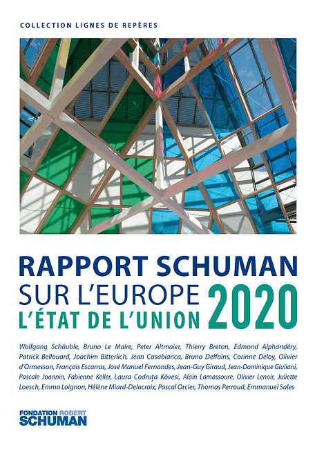 Rapport Schuman sur l'Europe Etat de l'union 2020