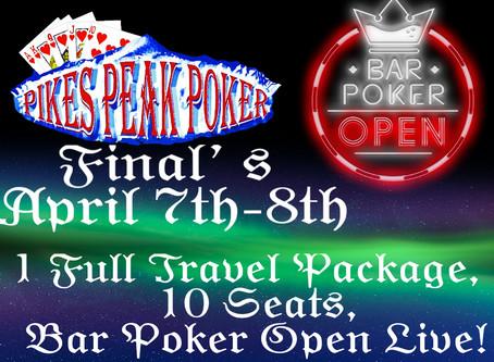 Finals April 7th - 8th