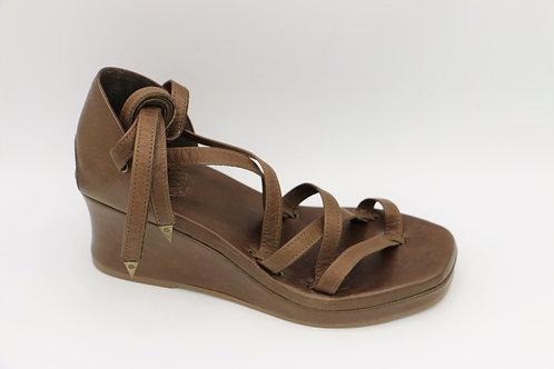 alicante warm brown sandals