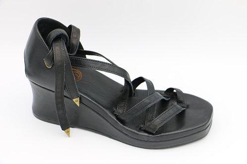 alicante negro sandals