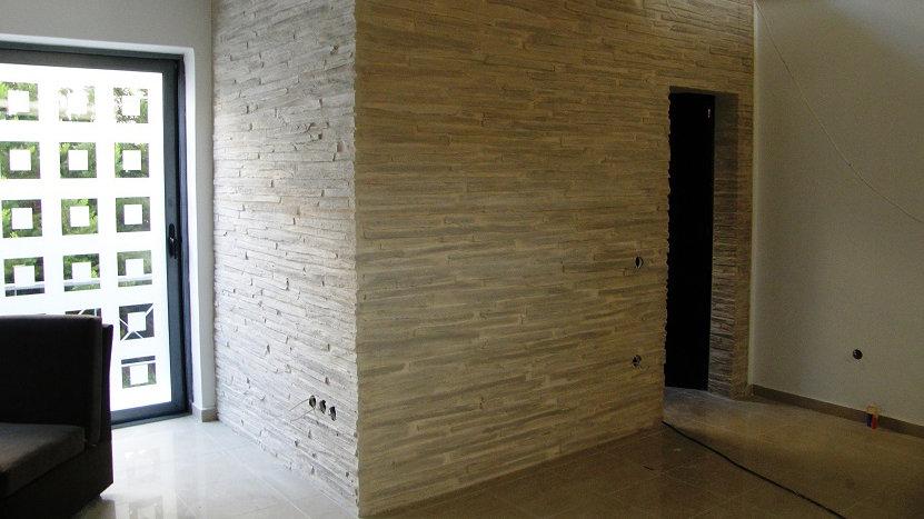 Innen- und Außenfassaden Dekoration (Stein oder Ziegel)
