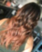 My new client had virgin hair. Sunlights