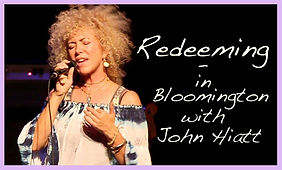Jennie DeVoe sings Redeeming opening for John Hiatt