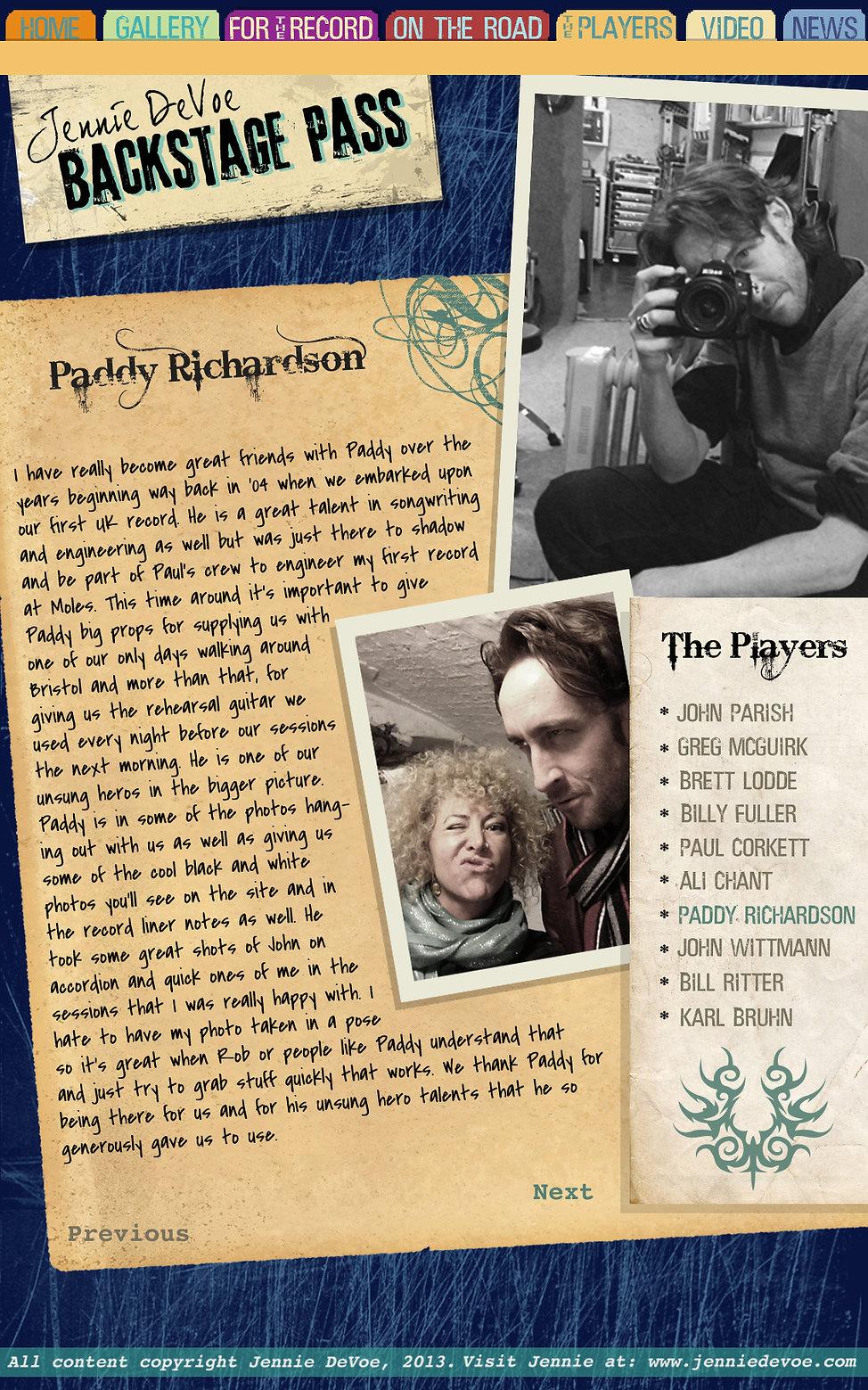 Paddy Richardson Flat.jpg