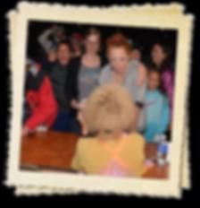Jennie DeVoe meets & greets her fans