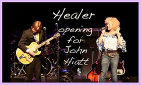 Jennie DeVoe performs her song Healer opening for John Hiatt