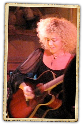 Jennie DeVoe performs at Nancy Noel's Sanctuary