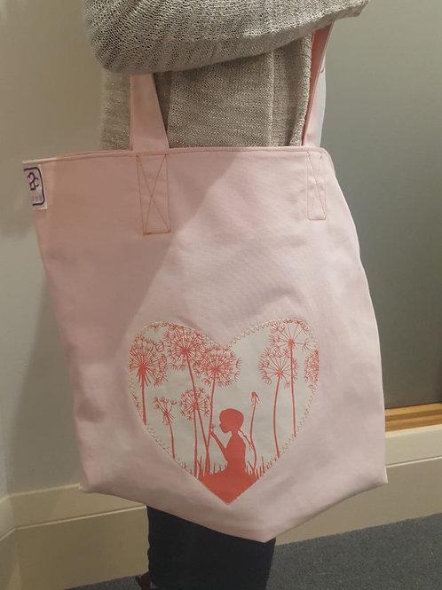 Wishing on a dandelion bag