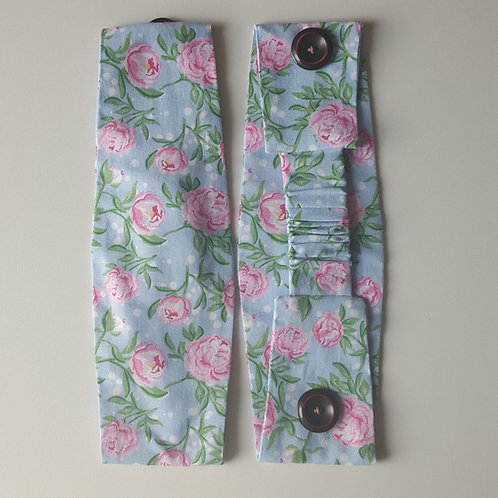 Headband with buttons - Flowers