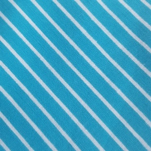 Face mask - Turquoise Stripes