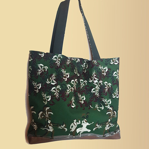 Green Dancing Tote bag