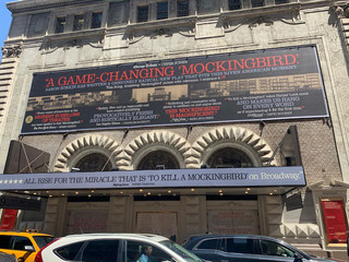 45th Street Banner, and Marquee Wrap
