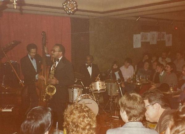 Leonard Gaskin Percy France tenor saxophone Oliver Jackson
