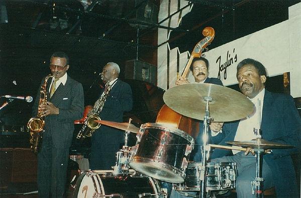 Percy France tenor saxophone George Kelly Leonard Gaskin Oliver Jackson