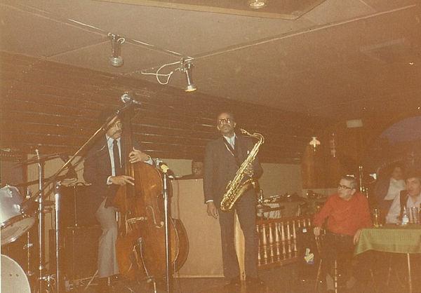 Leonard Gaskin Percy France tenor saxophone