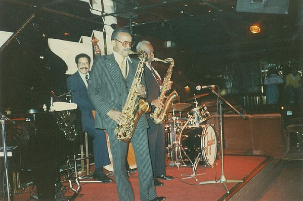 Leonard Gaskin Percy France tenor saxophone George Kelly