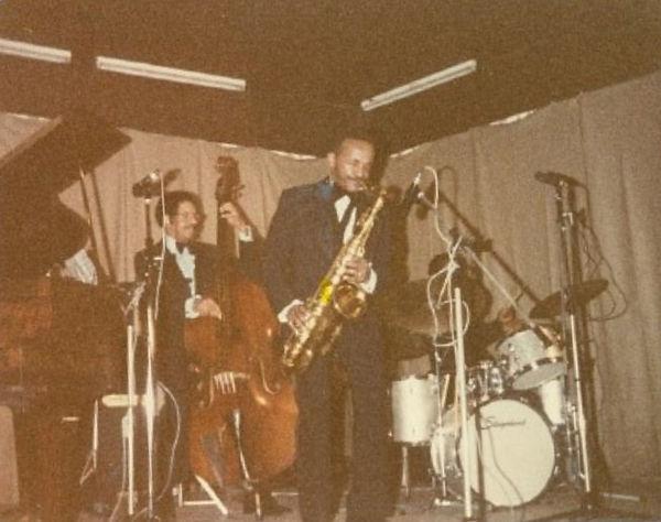 Percy France saxophone