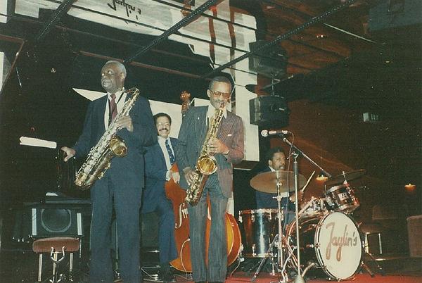 George Kelly Leonard Gaskin Percy France tenor saxophone