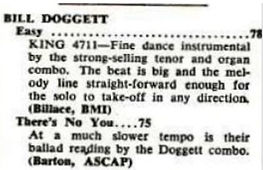 Billboard May 15 1954 - King 4711 Review