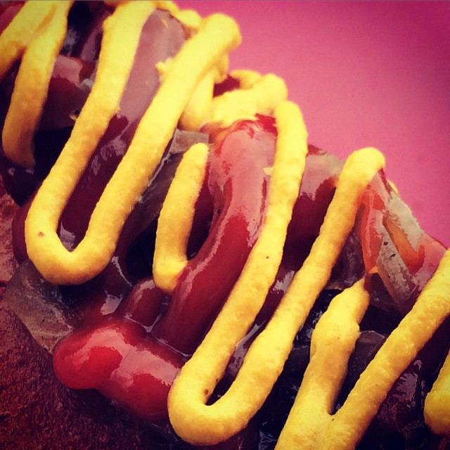 Instagram - All about the mustard ketchup squiggle