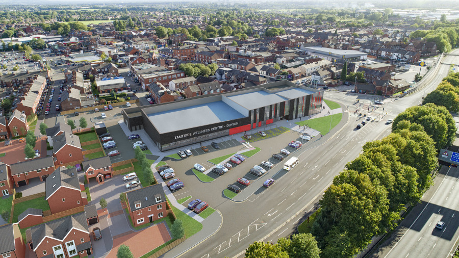 Manchester-Tameside-Wellness-Centre-Leisure-Redevelopment-construction-building-TWCD2