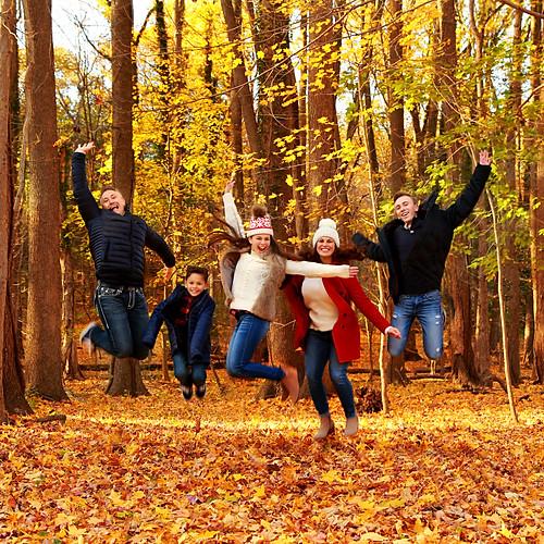 Waights Fall Family Photos