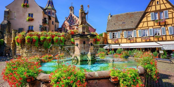 Centre ville d'Eguisheim