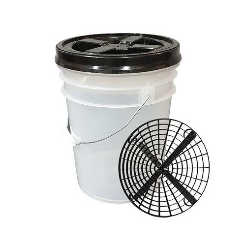 MD Detailing wash bucket kit Black