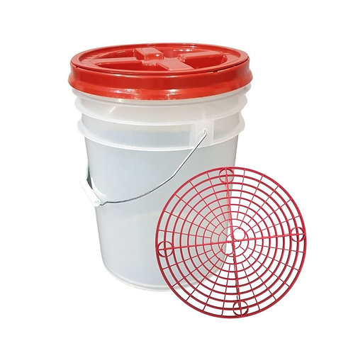 MD Detailing wash bucket kit Red