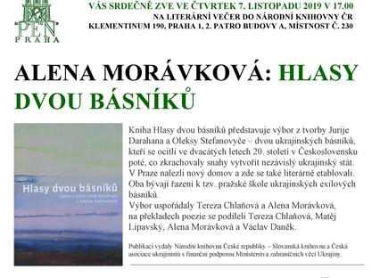 Překladatelka Alena Morávková hovoří o tvorbě dvou ukrajinských básníků