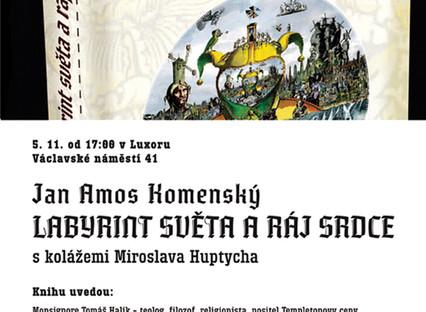 Exkluzivní vydání knihy J. A. Komenský:  Labyrint světa a ráj srdce