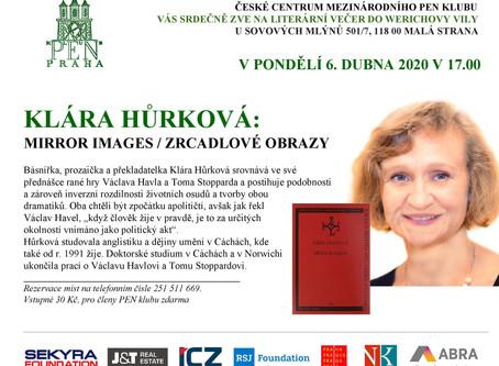 Klára Hůrková přednáší o tvorbě dramatiků Václava Havla a Toma Stopparda