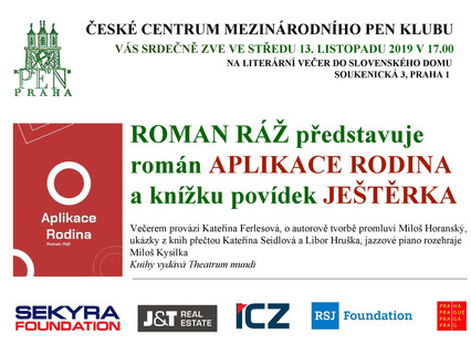 Roman Ráž nabízí čtenářům nový román