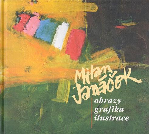 obalka knihy_Milan janacek_obrazy_grafik
