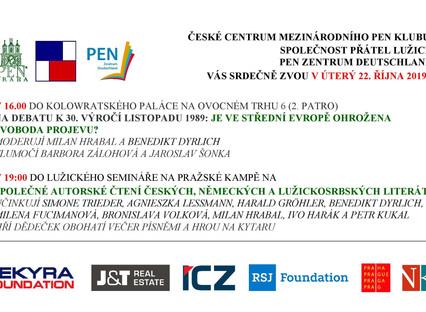 Český PEN klub zve