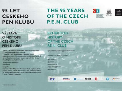 Výstava 95 let Českého PEN klubu končí v neděli 30. srpna
