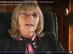Ceny Brückenbauer | Stavitel mostů obdrželi Eugenie  Trützschler a Jaroslav Rudiš