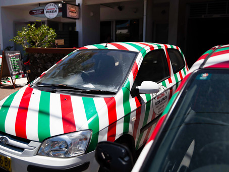 The Best Pizza Delivery in Byron Bay.
