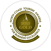Gold-award-North-Coast-Tourism-2013