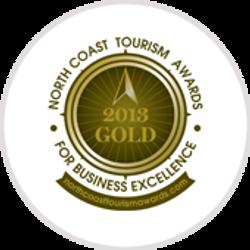 Gold-award-North-Coast-Tourism-2013