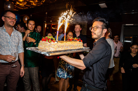 Copy of Company Anniversary Birthday Cak