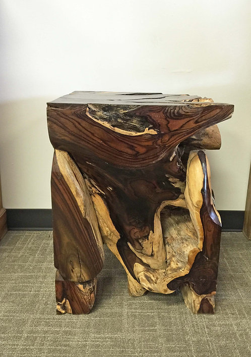 ET002, End Table,Sono Wood ,Rosewood