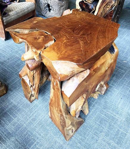 ET020 , End Table ,Teak Wood root
