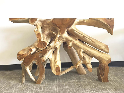 CRW018,Sofa/Cosole Table Teak Root