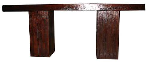 DT001, Dark Walnut Dining Table Teak Wood