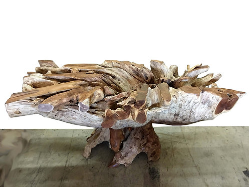 RDT018, Rectangular Teak Root Dining Table